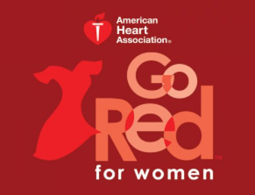 WAF Celebrates GO RED FOR WOMEN Day!